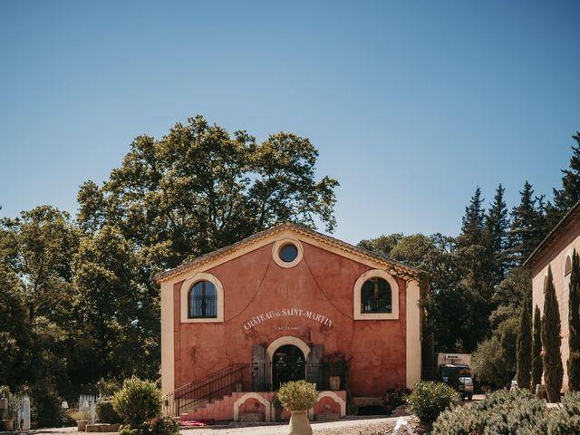 Le mariage de Julien et Celia à Taradeau, Var 39