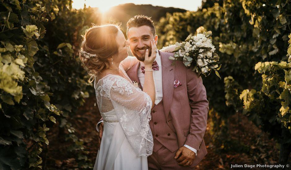 Le mariage de Julien et Celia à Taradeau, Var