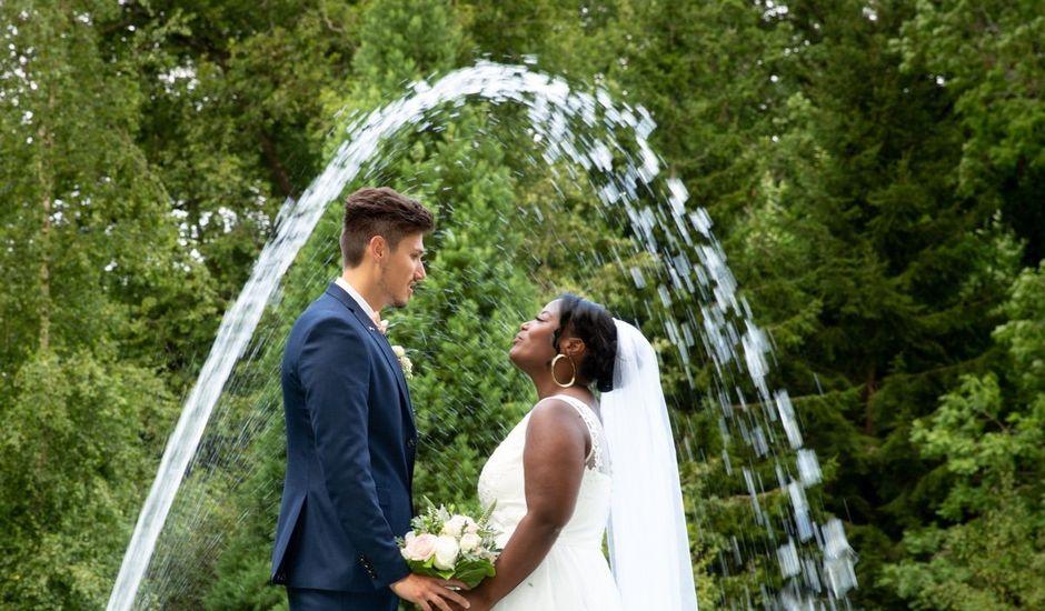 Le mariage de Romain et Naomie à Fresneaux-Montchevreuil, Oise