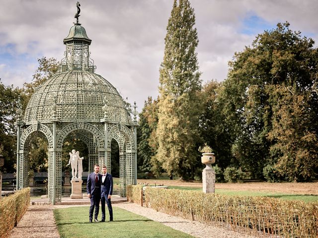 Le mariage de Fabien et Ludovic à Chantilly, Oise 2
