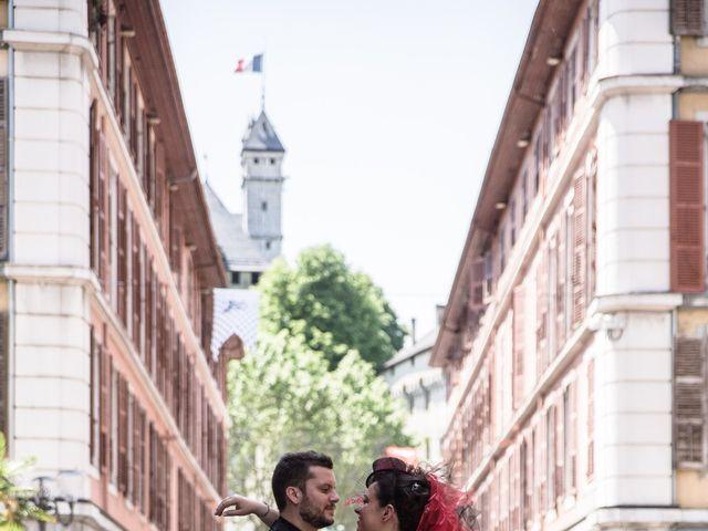 Le mariage de Florian et Stéphanie à Chambéry, Savoie 1
