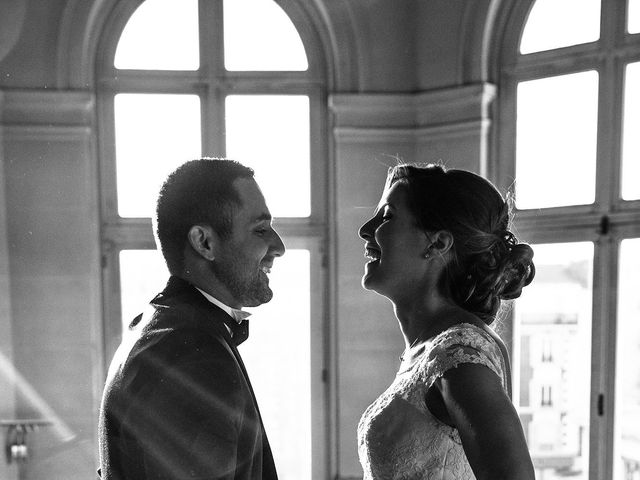 Le mariage de David et Marie à Asnières sur Seine, Hauts-de-Seine 9