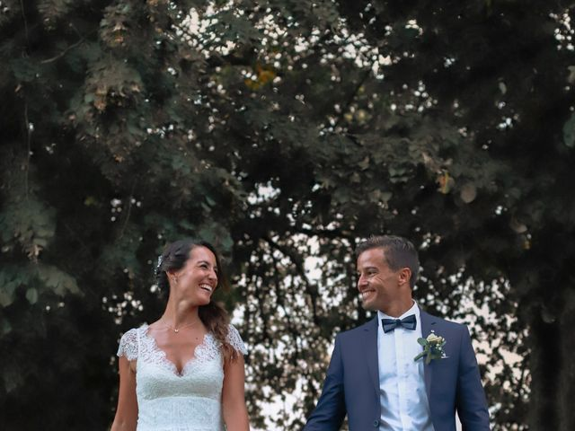 Le mariage de Anthony et Camille à Auros, Gironde 4