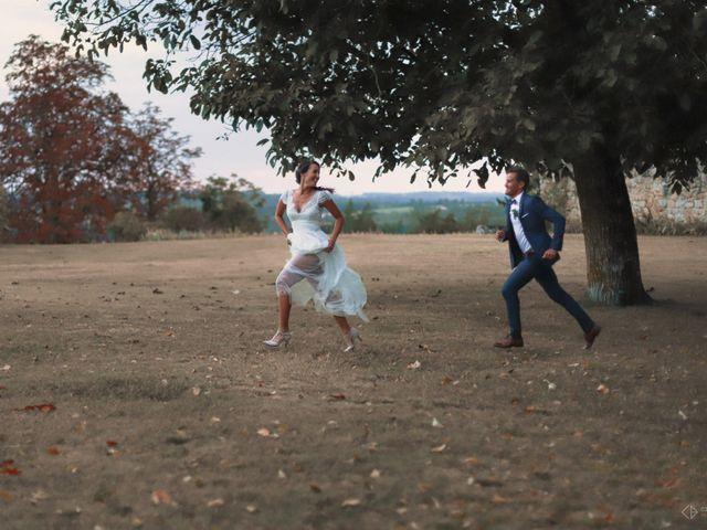 Le mariage de Anthony et Camille à Auros, Gironde 1
