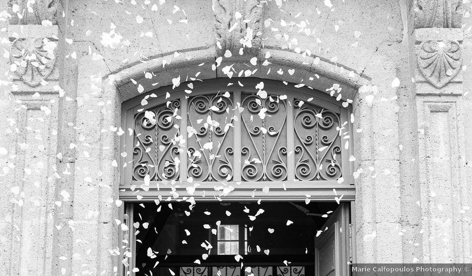 Le mariage de Jérémy et Andréa à Saint-Victor-la-Coste, Gard