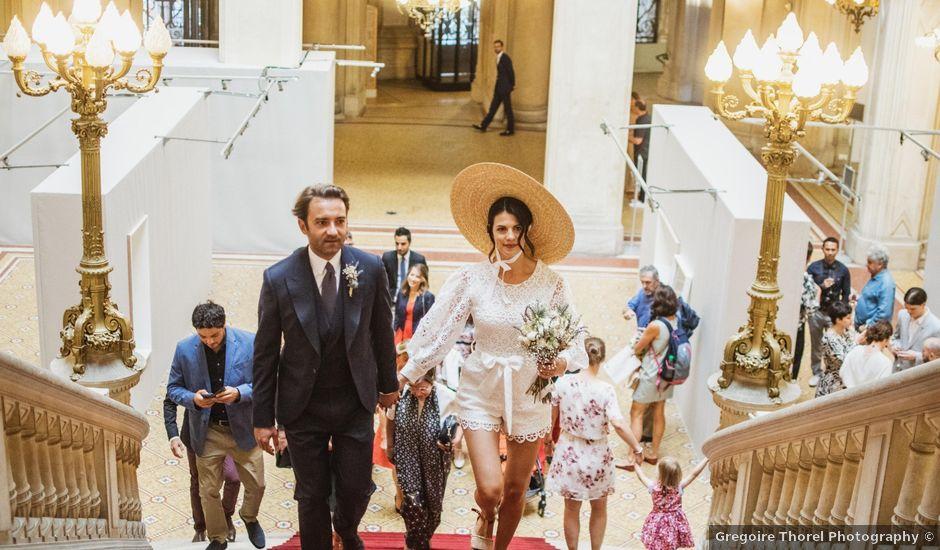 Le mariage de Guillaume et Sophie à Paris, Paris