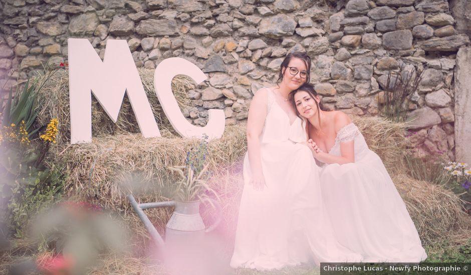 Le mariage de Caroline et Mathilde à Voissant, Isère