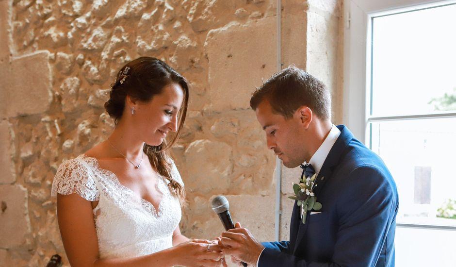 Le mariage de Anthony et Camille à Auros, Gironde