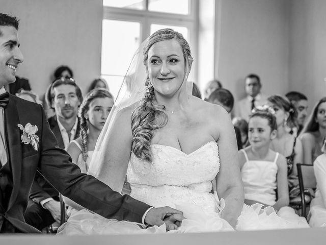 Le mariage de Gaël et Magalie à Marçay, Vienne 1