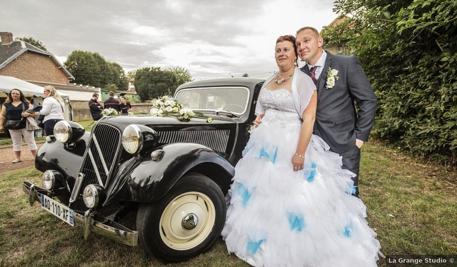 Le mariage de Benjamin et Aurélie à Villers-Guislain, Nord