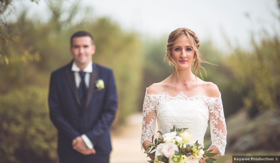 Le mariage de Guillaune et Céline à Vergèze, Gard
