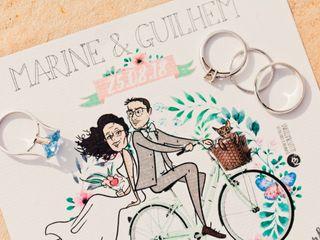 Le mariage de Marine et Guilhem