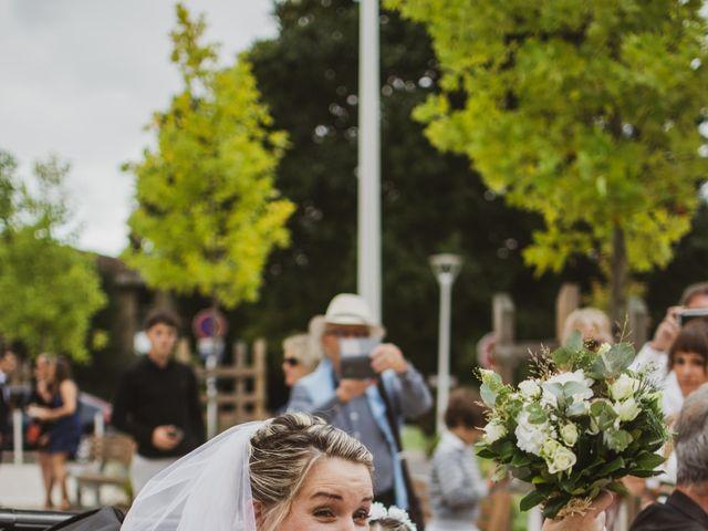 Le mariage de Jimmy et Fanny à Biscarrosse, Landes 8