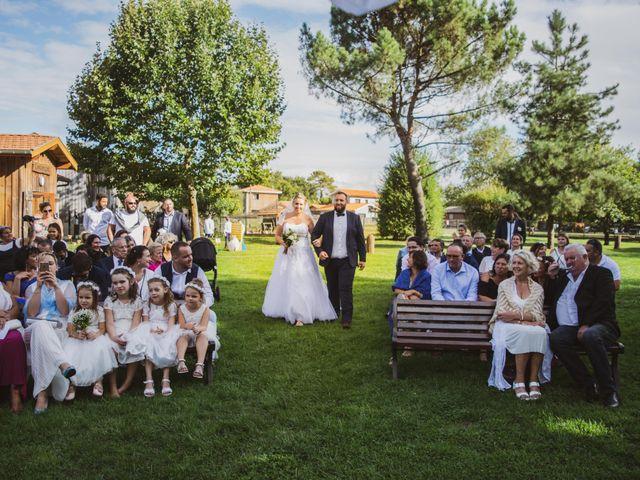 Le mariage de Jimmy et Fanny à Biscarrosse, Landes 19