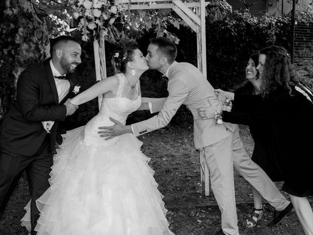 Le mariage de Florent et Margot à Bourg-Argental, Loire 12