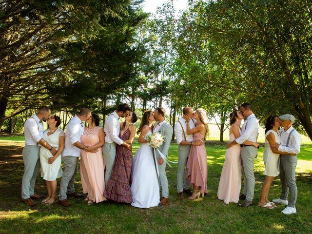 Le mariage de Damien et Eliza à Marquefave, Haute-Garonne 1
