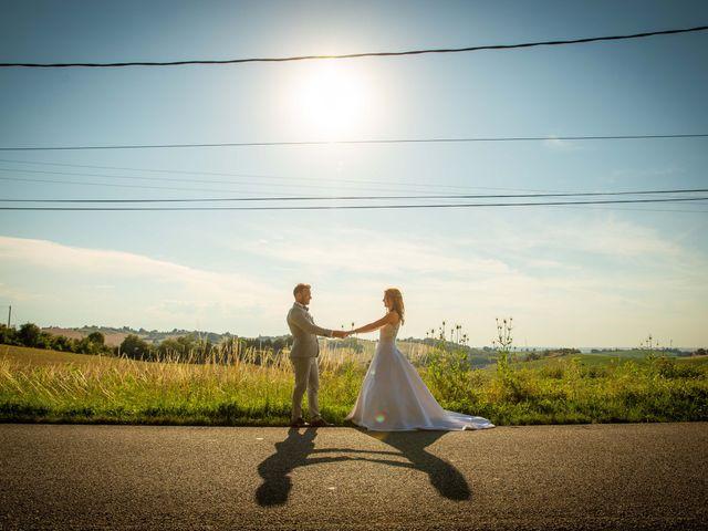 Le mariage de Damien et Eliza à Marquefave, Haute-Garonne 56