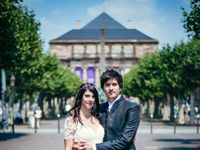 Le mariage de Aurélien et Adeline à Strasbourg, Bas Rhin 6