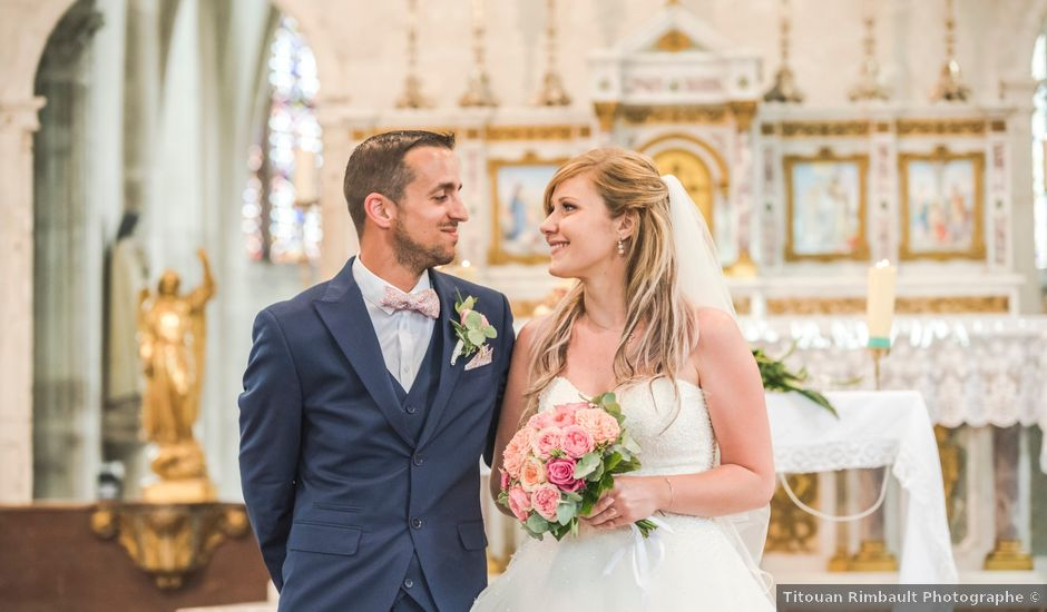 Le mariage de Bastien et Morgane à Migennes, Yonne