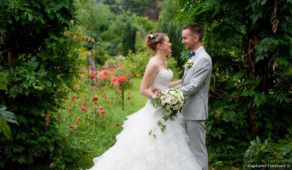 Le mariage de Florent et Margot à Bourg-Argental, Loire