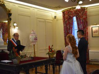 Le mariage de Kim et Daboussi