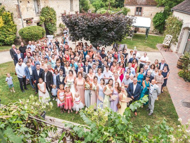 Le mariage de Justin et Ophélie à Senan, Yonne 10