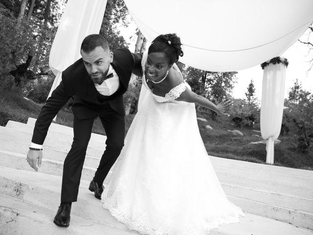 Le mariage de ZACHARI et INES à Le Coudray-Montceaux, Essonne 3
