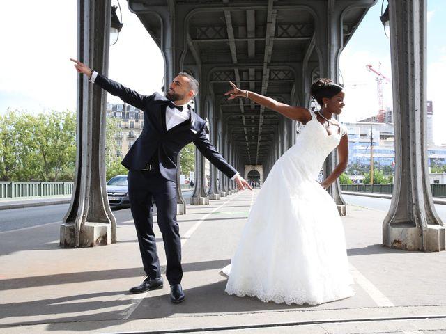 Le mariage de ZACHARI et INES à Le Coudray-Montceaux, Essonne 8