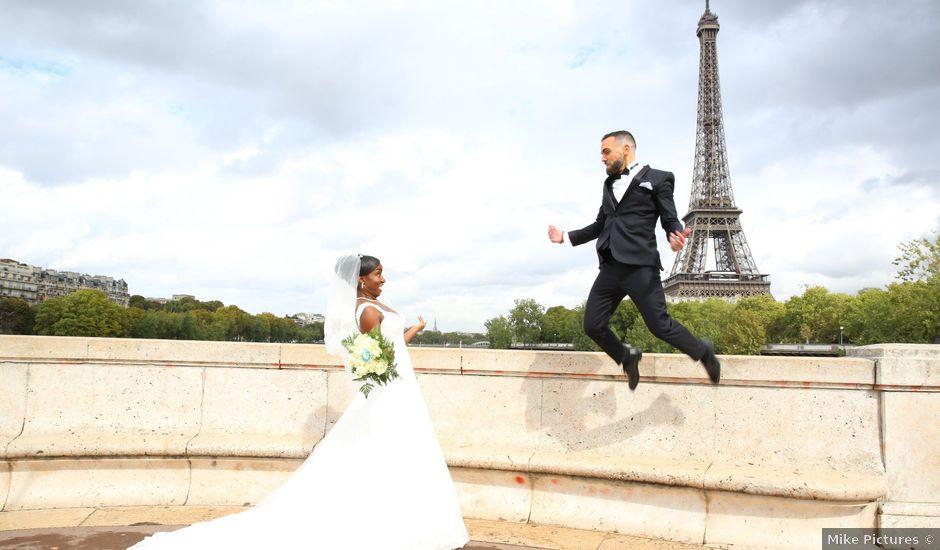Le mariage de ZACHARI et INES à Le Coudray-Montceaux, Essonne