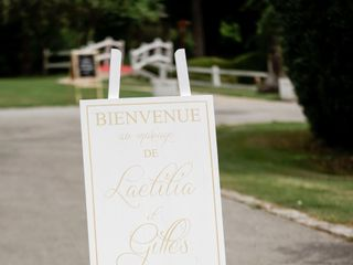 Le mariage de Laetitia et Gilles  1