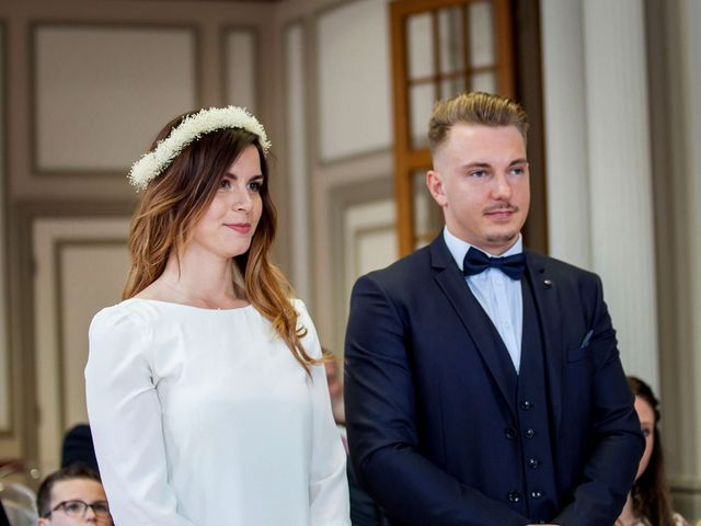 Le mariage de Valentin et Zélie à Halluin, Nord 3