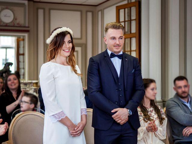 Le mariage de Valentin et Zélie à Halluin, Nord 7