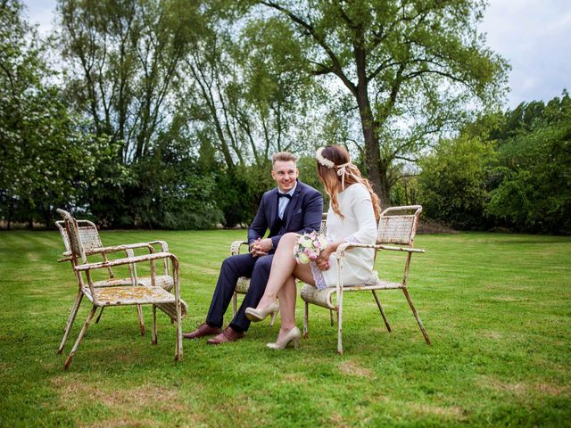 Le mariage de Valentin et Zélie à Halluin, Nord 14