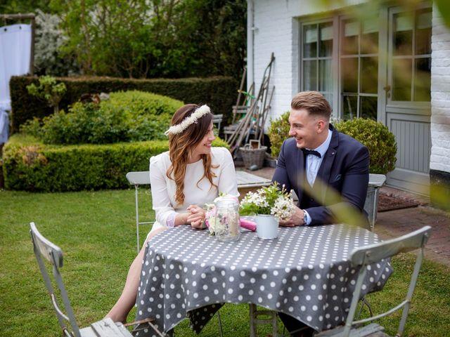 Le mariage de Valentin et Zélie à Halluin, Nord 25