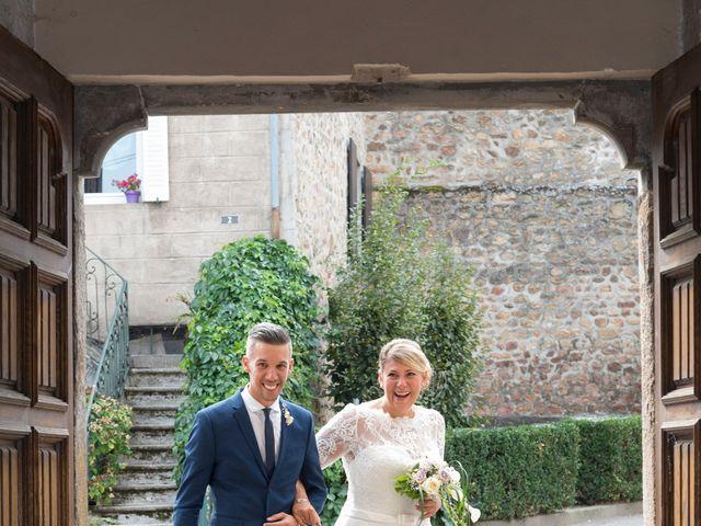 Le mariage de Yannick et Férial à Roiffieux, Ardèche 21