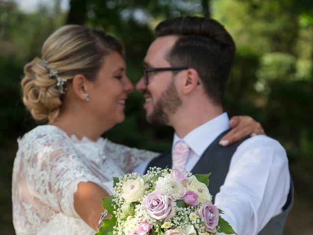 Le mariage de Yannick et Férial à Roiffieux, Ardèche 36