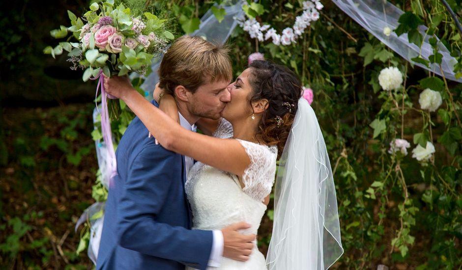 Le mariage de Baptiste et Eirin à Saint-Gilles, Manche