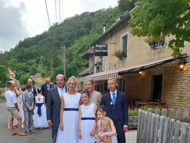 Le mariage de   Arnaud  et Marie-Laure   à Cusance, Doubs 14
