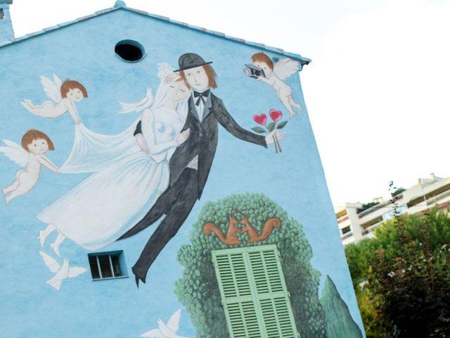 Le mariage de Mathieu et Astrid à Antibes, Alpes-Maritimes 1