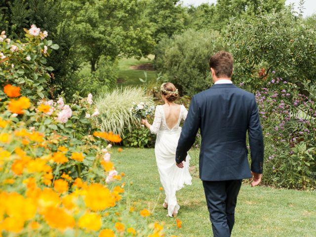 Le mariage de Victor et Florence à La Romieu, Gers 28