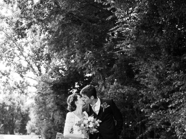 Le mariage de Victor et Florence à La Romieu, Gers 32