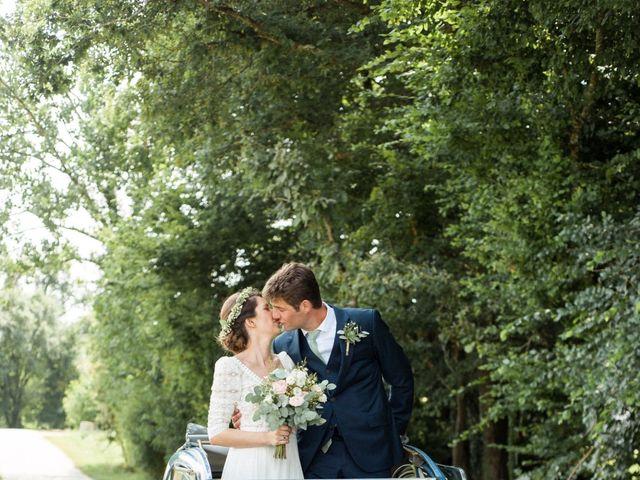 Le mariage de Victor et Florence à La Romieu, Gers 33