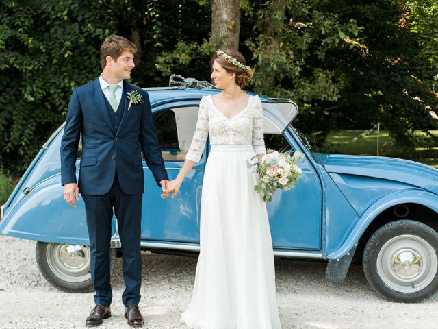 Le mariage de Victor et Florence à La Romieu, Gers 35