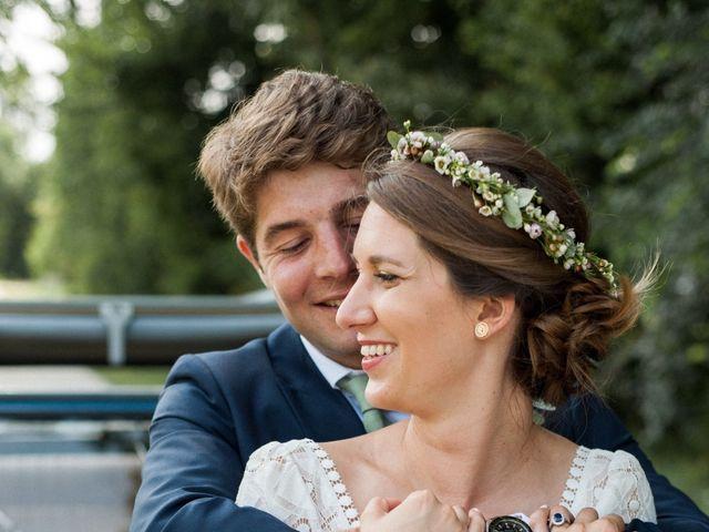 Le mariage de Victor et Florence à La Romieu, Gers 36