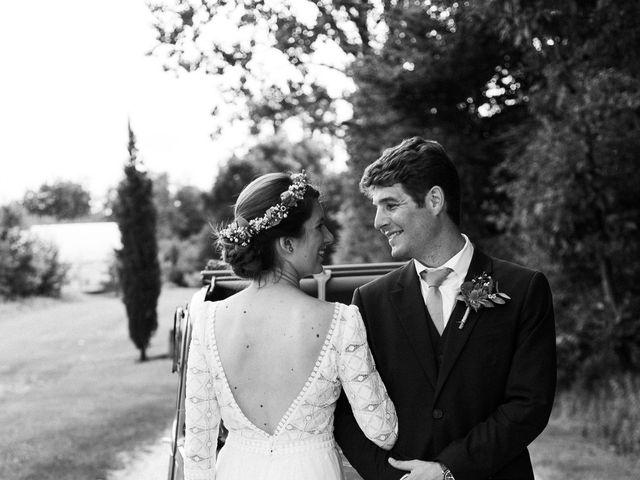 Le mariage de Victor et Florence à La Romieu, Gers 39