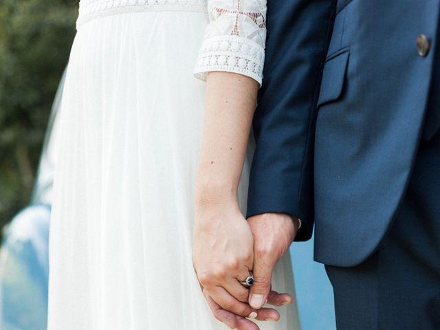 Le mariage de Victor et Florence à La Romieu, Gers 41