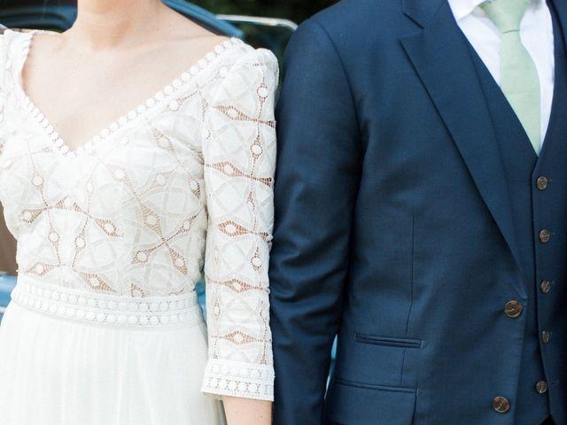 Le mariage de Victor et Florence à La Romieu, Gers 42