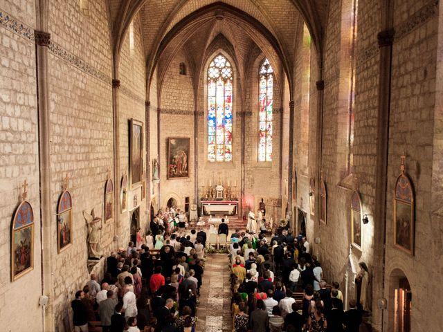 Le mariage de Victor et Florence à La Romieu, Gers 48