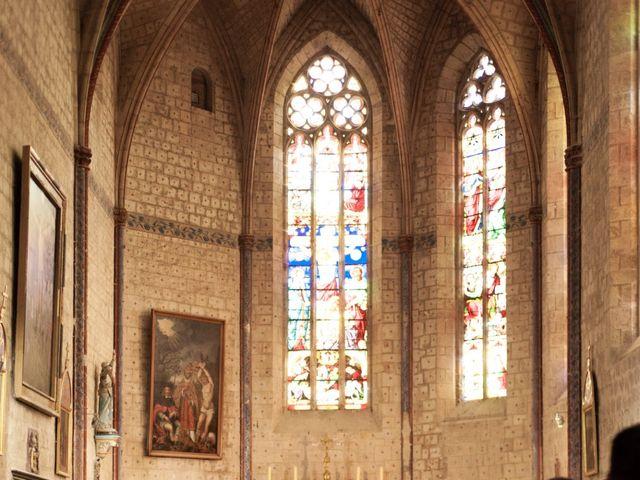 Le mariage de Victor et Florence à La Romieu, Gers 49