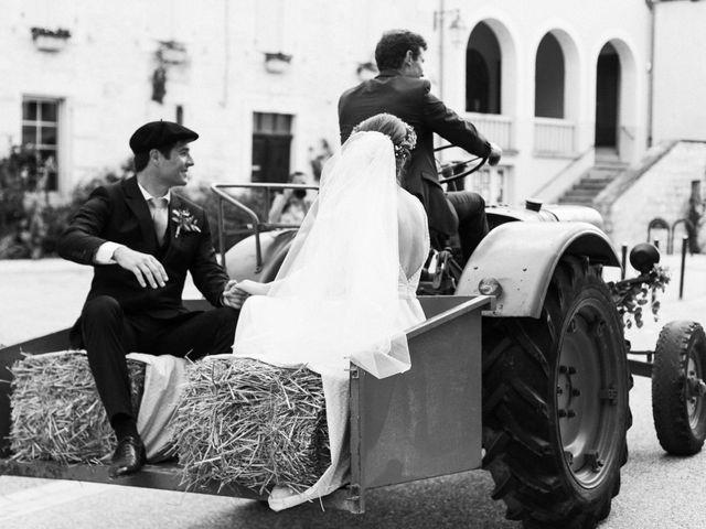 Le mariage de Victor et Florence à La Romieu, Gers 54